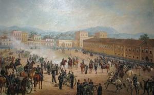 Quadro de Benedito, pintado em1893, é uma das obras mais completas sobre a Proclamação da República