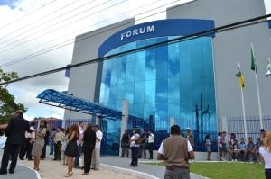 Moderno forum de Laranjal do Jari, considerado o mais moderno da Justiça do Amapá