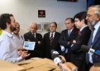 Dois parlamentares do Amapá, João Capiberibe (PSB) e Randolfe Rodrigues (PSOL), aparecem entre os senadores que reeberam a petição contra Renan