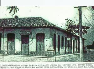 Antigo Largo de São Sebastião, onde ficava a primeira Casa de Justiça de Macapá
