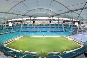 Arena Itaipava Fonte Nova, a ser inaugurada esta semana
