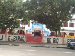Escola Barão do Rio Branco precisando de uma grande reforma