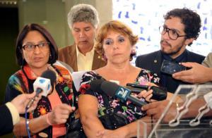 Deputada Janete. Jean Willians e Chico Alencar contra restrições de Feliciano